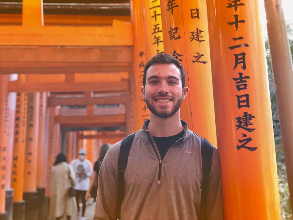 Fushimi Inari Shrine (Kyoto) - portrait of Steven