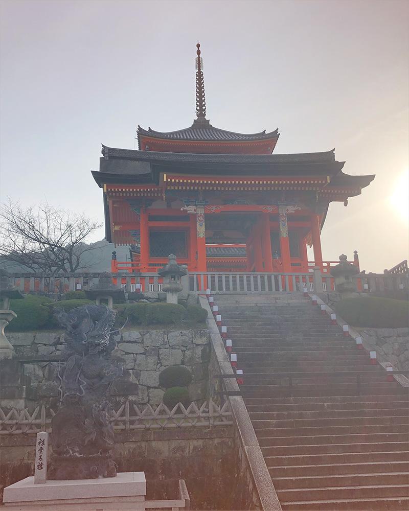 Kyoto Japan - Kiyomizu- dera Temple